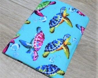 Birth Control Pill Case Pill Sleeve Pill Holder Business Card Holder Business Card Sleeve Sea Turtles