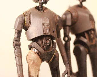 star wars black series k-2so 6 inch custom painted action figure.