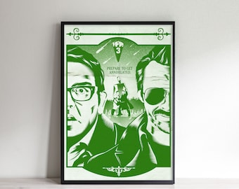 Get Annihilated - Inspired by The World's End - Movie Poster