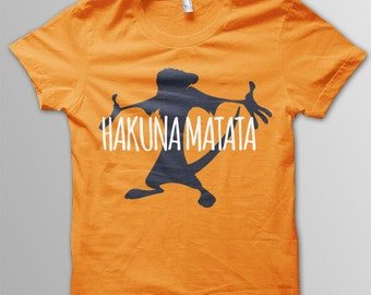 Lion King Hakuna Matata Shirt Disney shirt kids Lion King shirt