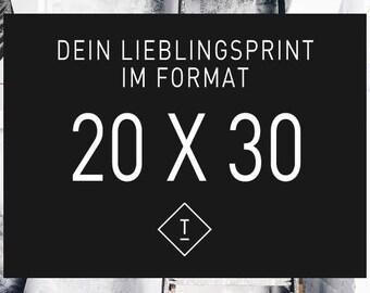 20 x 30 cm / Fine Art-Print, Wall-Art, Minimal Poster Art, Typography Art, Premium Poster, Kunstdruck Poster