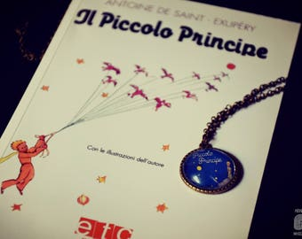 Cameo necklace/* the little Prince *