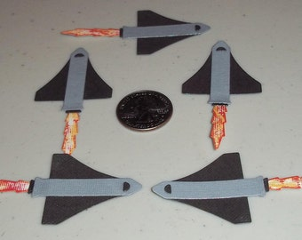 Space Ships - 5 to a set