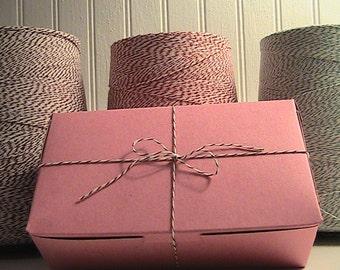 30 Pink Bakery Boxes - Wonderful - Cookies - Brownies - Sweet Treats