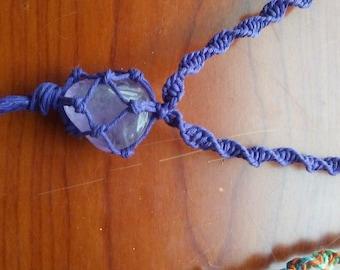 Amethyst Hemp Necklace