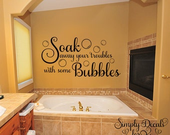 More Colors. Bubble Bath Wall Decal ...