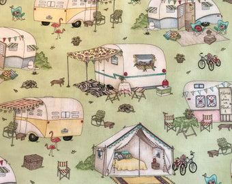 Vintage Trailer Fabric