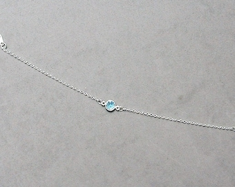 Swarovski March Birthstone Bracelet