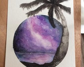 beach galaxy