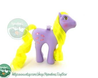 Vintage My Little Pony Yum Yum Flutter Pony 1980s Toy by Hasbro