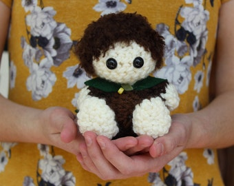 Frodo Baggins Lord of the Rings Crochet Doll