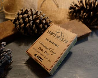 Pine Tar Face and Body Soap
