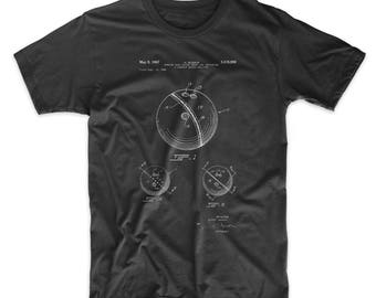 Bowling Ball 1991 Patent T Shirt, Bowling Alley, Bowling Decorations, Sports Gift, PP0656