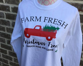 Fresh Christmas Trees Shirt
