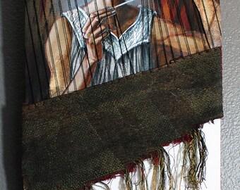 Athena Ergane- Mixed media illustration
