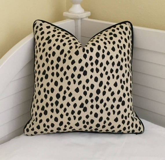 & Lacefield Designs Dodie Animal Print Designer Pillow Cover