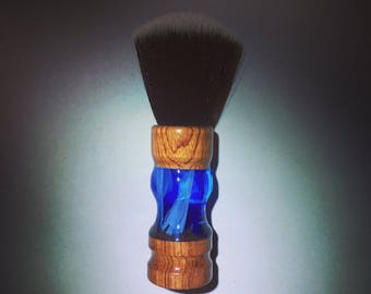 25mm Fan Knot - Wood/Acrylic Shaving Brush