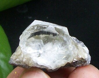 Light Blue Beryl crystal with Muscovite B2510 China