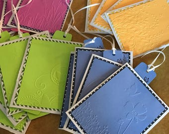 Assorted Embossed Cards