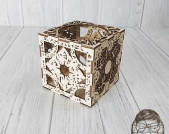 Hellraiser Cube Tea Light Box