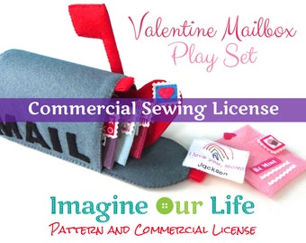 Valentine Mailbox Playset Commercial License