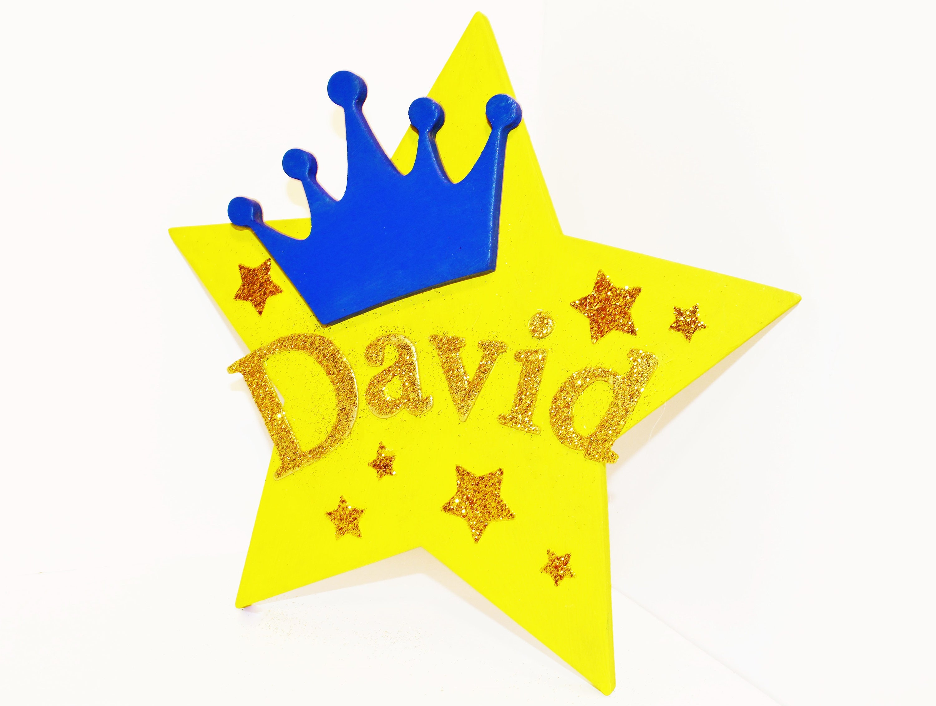 CHILDRENS PHOTO PROP Shining Star Personalized Name Room