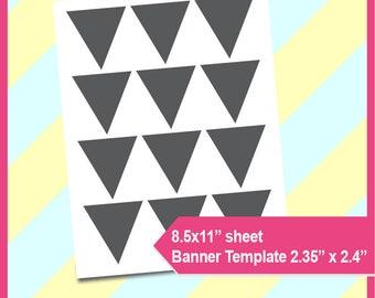 banner template printable