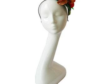 Nasturtium Headpiece