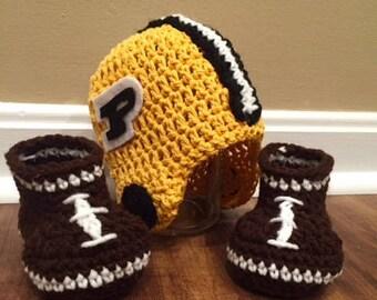 Custom Team Baby Football Outfit Helmet with Football Booties
