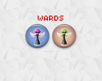 Sight & Vision Wards (Pin-Back Buttons)