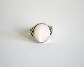 Mother of Pearl Ring 7