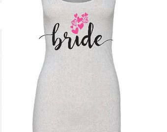Bride Tank Top, Future Mrs Tank Top, Racer Back Tanktop, Future Mrs Shirt, Bridal Tank Top, Bachelorette Tank Top , Bride Tee, Mrs Tee