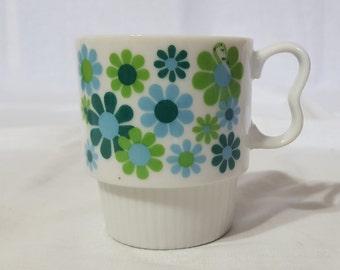 Vintage, retro coffee mug