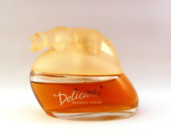 Vintage 1990s Delicious by Gale Hayman 1 oz Eau de Toilette Spray PERFUME