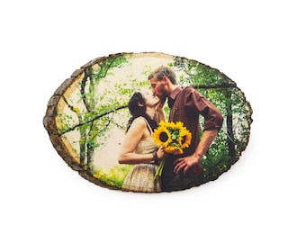 5th Anniversary Gift, Anniversary Photo on Wood, Wedding Picture on Wood, Wood Anniversary Gift, 5 Year Anniversary, Custom Anniversary Gift