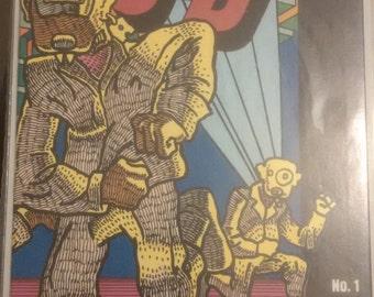 Adolescent Radioactive Black Belt Hamsters 3-D (1986) #1