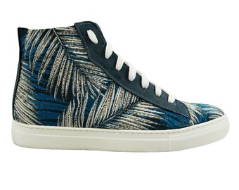 Sneaker Leaf - Recycled Tapestry - Vegan Shoes