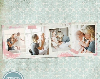 ON SALE NOW Instant Download Timeline Cover Template, Photoshop Template