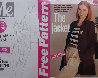 sewing patterns I free pattern 13 - classic jacket for women