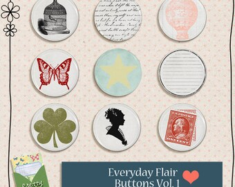 Everyday Flair Vol.1 Digital Elements