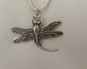 Old Sterling DRAGONFLY Pendant
