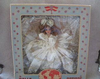 Dolls of All Nations  1940's with Original box  free shipping in u s a