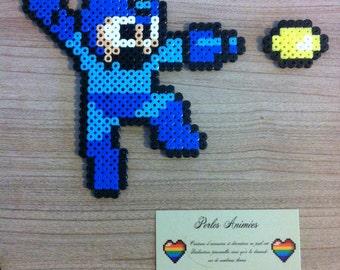 Pixel Art / Perler Beads Megaman Nes
