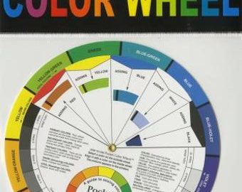 Color Wheel Mixing Guide 5 1/8 inch