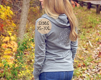up north michigan, up north girl, up north sign, yooper, lightweight hoodie, yoga hoodie, detroit shirt, upper michigan, upper peninsula
