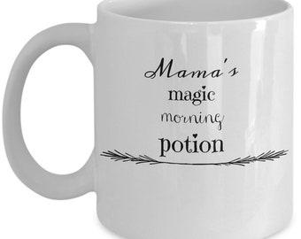 Mama's magic morning potion coffee mug