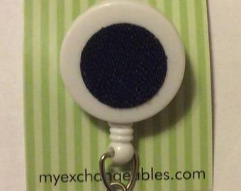 Exchangeables Hook and Loop Interchangeable Badge Reel