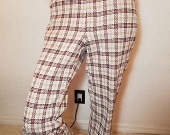 FREE  SHIPPING  1970 Men  Mod  Pants