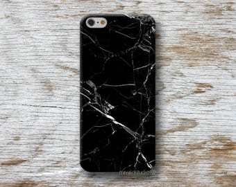 Black Marble Phone Case for iPhone 4 4s 5 5s SE 5C 6 6S 7 8 PLUS X iPod Touch 5 6 Oneplus 2 3 5 1+2 1+3 1+5