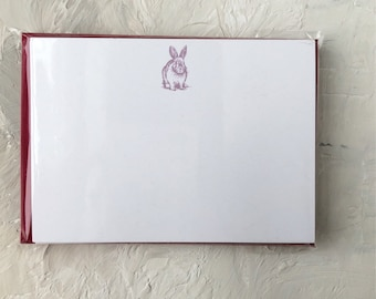 Bunny Notecards/ Thank You Cards/ Stationery